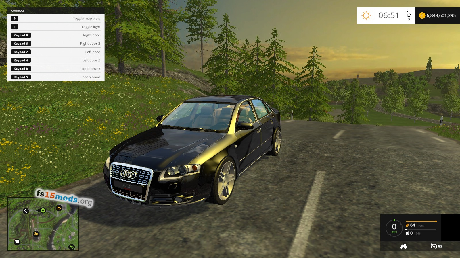 Fs15 Audi Cars Pack Fs15 Mods