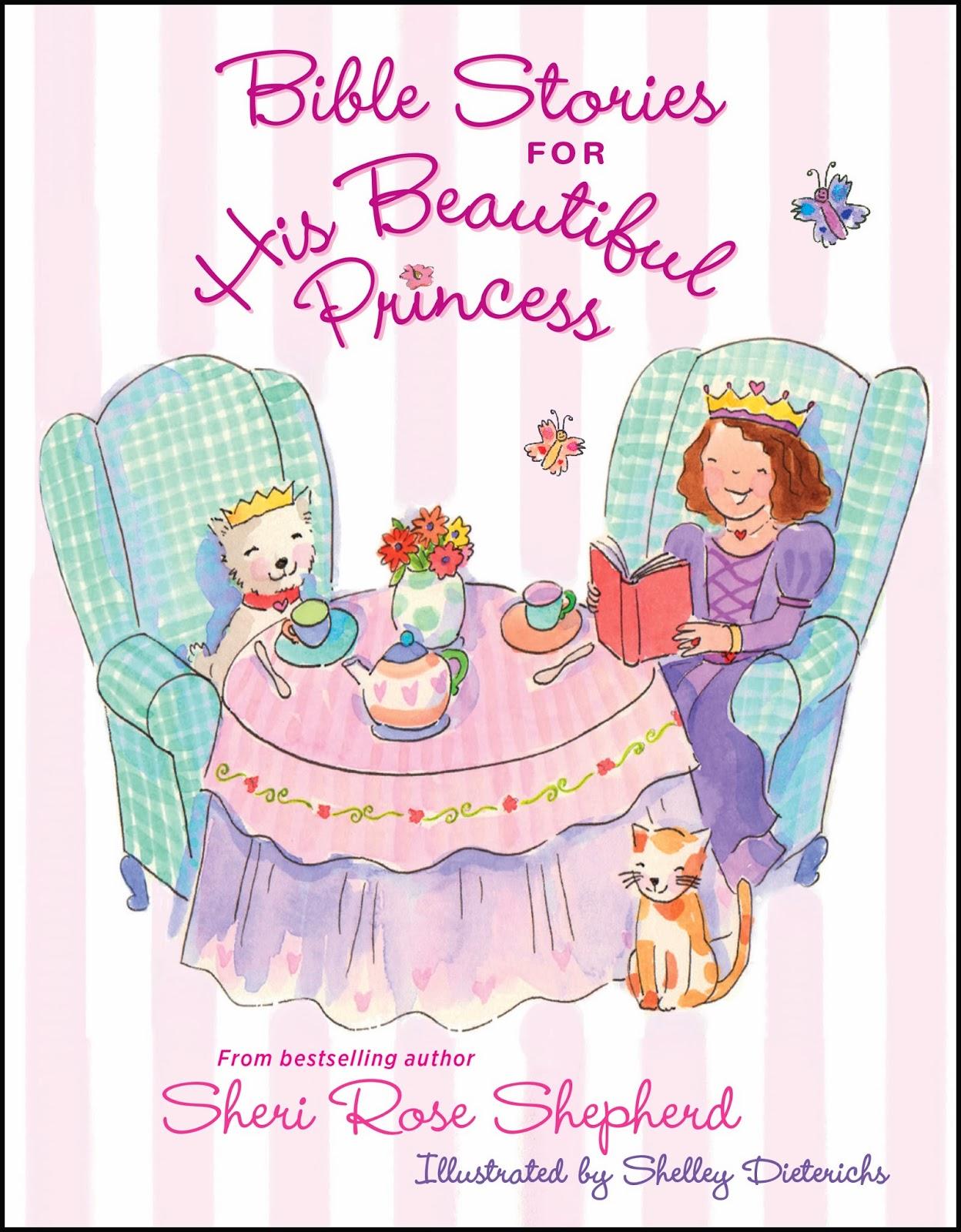 bible stories for his beautiful princess by sheri rose shepherd