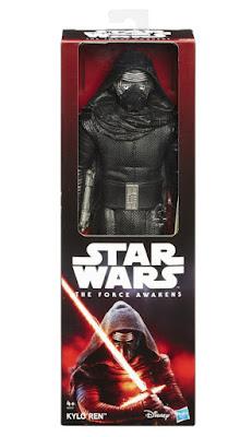 TOYS : JUGUETES - STAR WARS 7  Kylo Ren | 30 cm - 12-inch | Figura - Muñeco  El Despertar de la Fuerza - The Force Awakens  Película Disney 2015 | Hasbro B3911 | A partir de 4 años  Comprar en Amazon España & buy Amazon USA