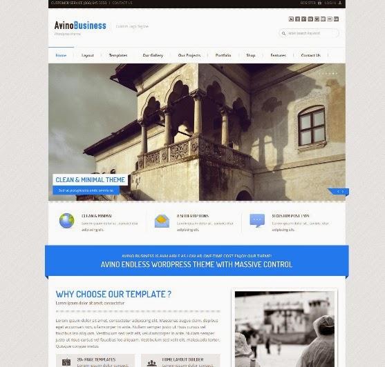 AVINO Multi Purpose WordPress Theme