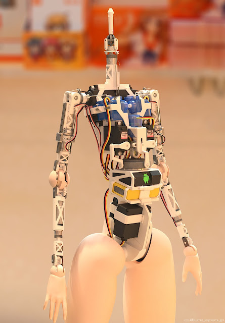 Smart robotic doll