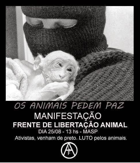 Animais pedem Paz