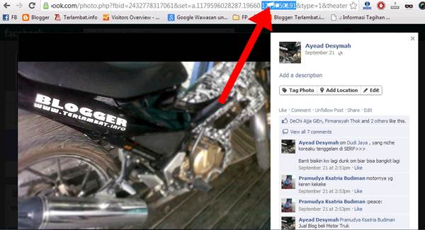 ID Profil Facebook Lewat Url Gambar Foto Profil