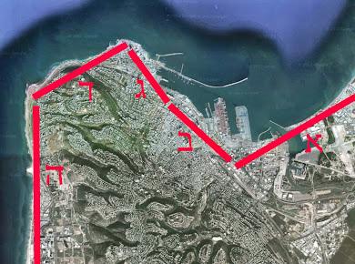 אזורי החיבור בין חיפה לים