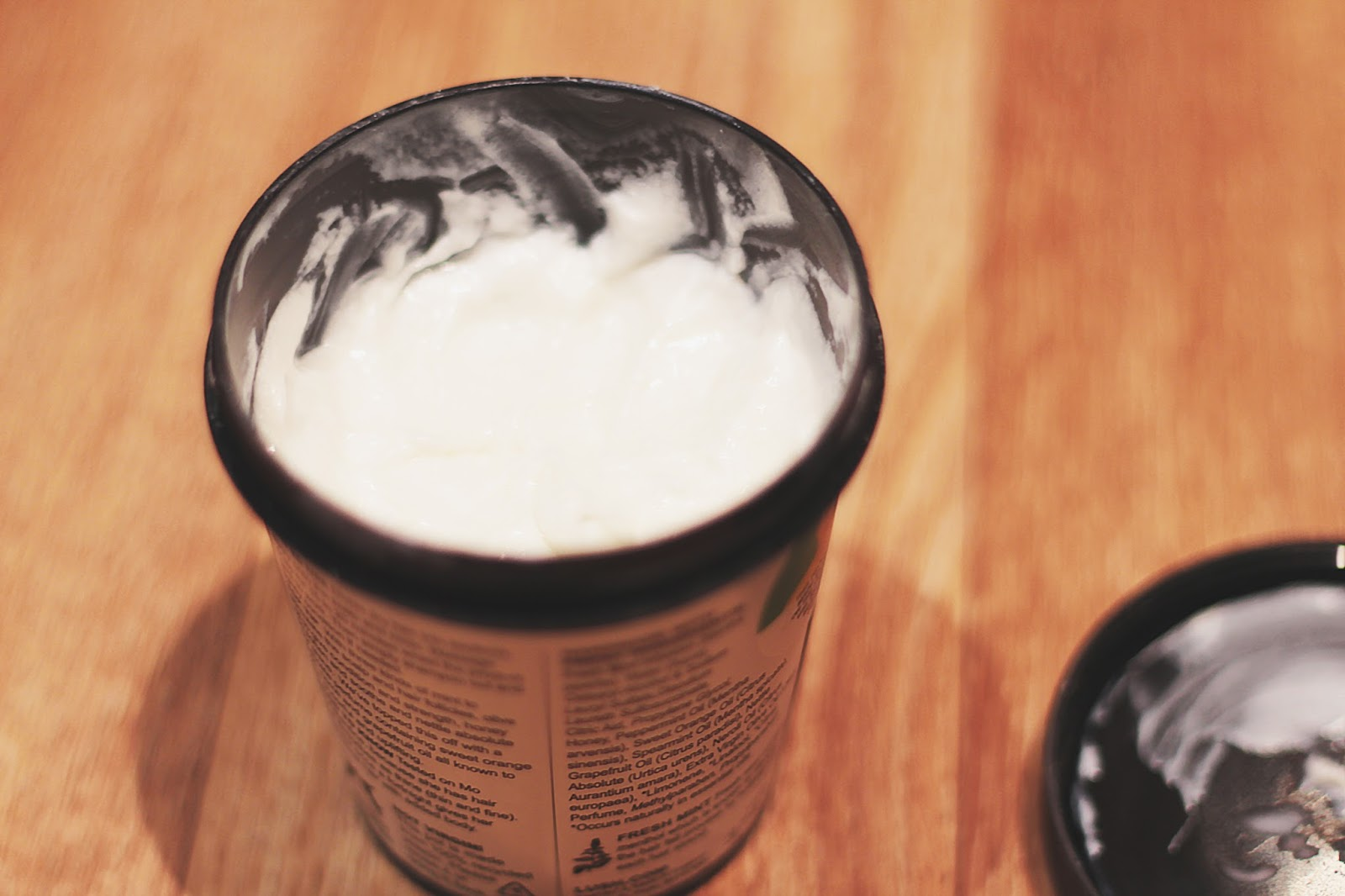 Lush ROOTS hair scalp treatment product close up