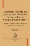 Littératures d'aujourd'hui, edición de Jean Bessière