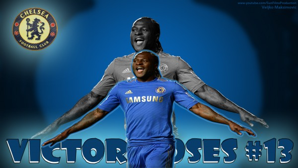 Victor Moses wallpaper Chelsea -