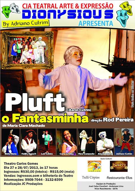 """""""Pluft - O Fantasminha"""" em Vitória/ES"""