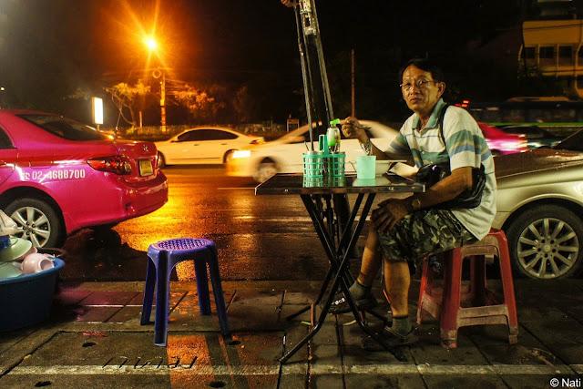 Restaurant de rue à Bangkok