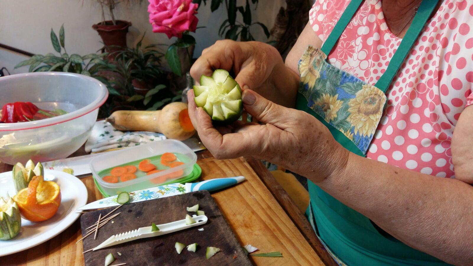 Verduras para decoración