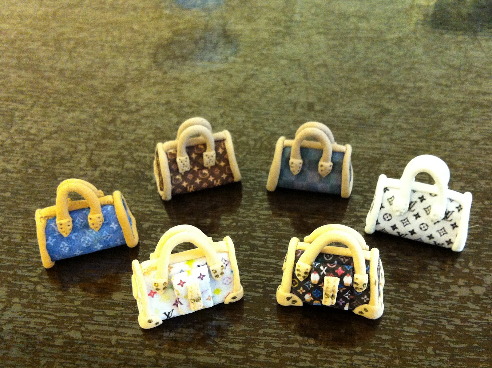 My paper clay projects designer handbags part 6 for Paper clay projects