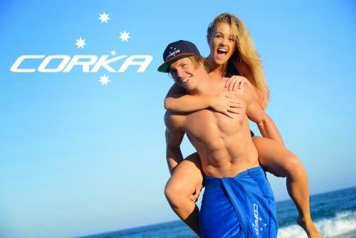Corka Mens Swimwear - Wanda Beach Photo Shoot 2015