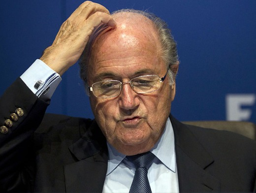 Nigerians React To Sepp Blatter's Decision Not To Resign As FIFA President