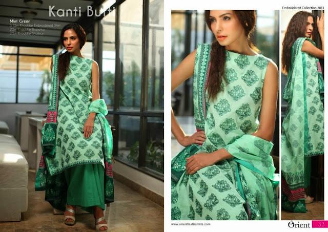 Kashmeeri Khaddar Dresses Vol 2 By Orient Textiles 2013-2014