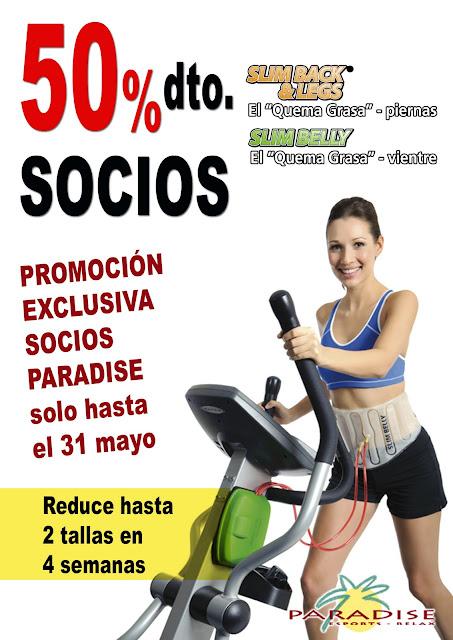 gimnasio paradise matar211 slim belly promocion socios