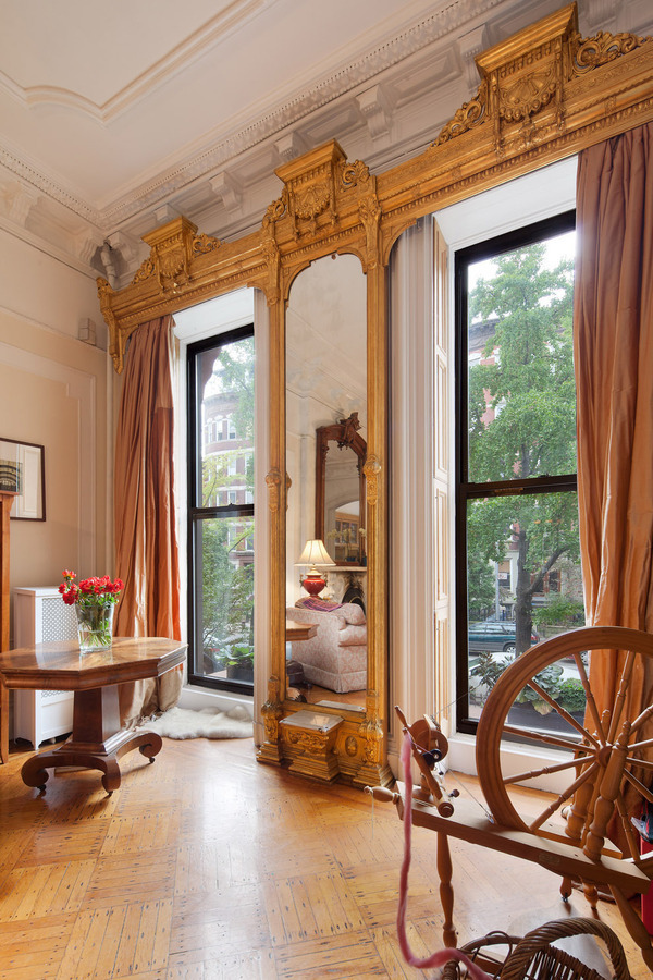 Old world gothic and victorian interior design victorian gothic interior style Brooklyn brownstone interior