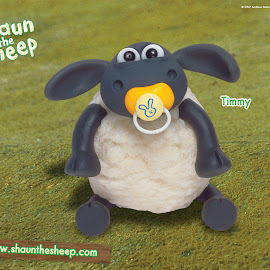 Wallpaper kartun Shaun the Sheep