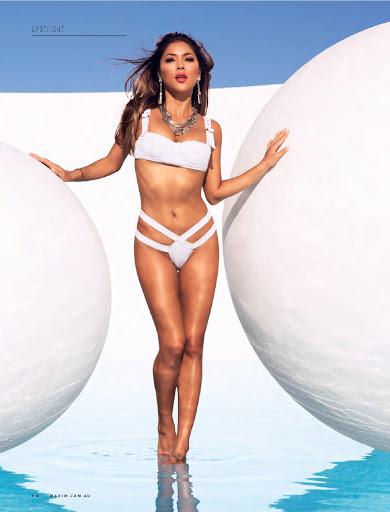 Arianny Celeste sexy bikini for Maxim Australia magazine November 2015