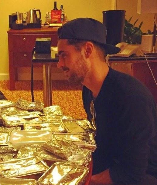 Blog de la tele zac efron tiene una cena rom ntica con un - Cena romantica en londres ...