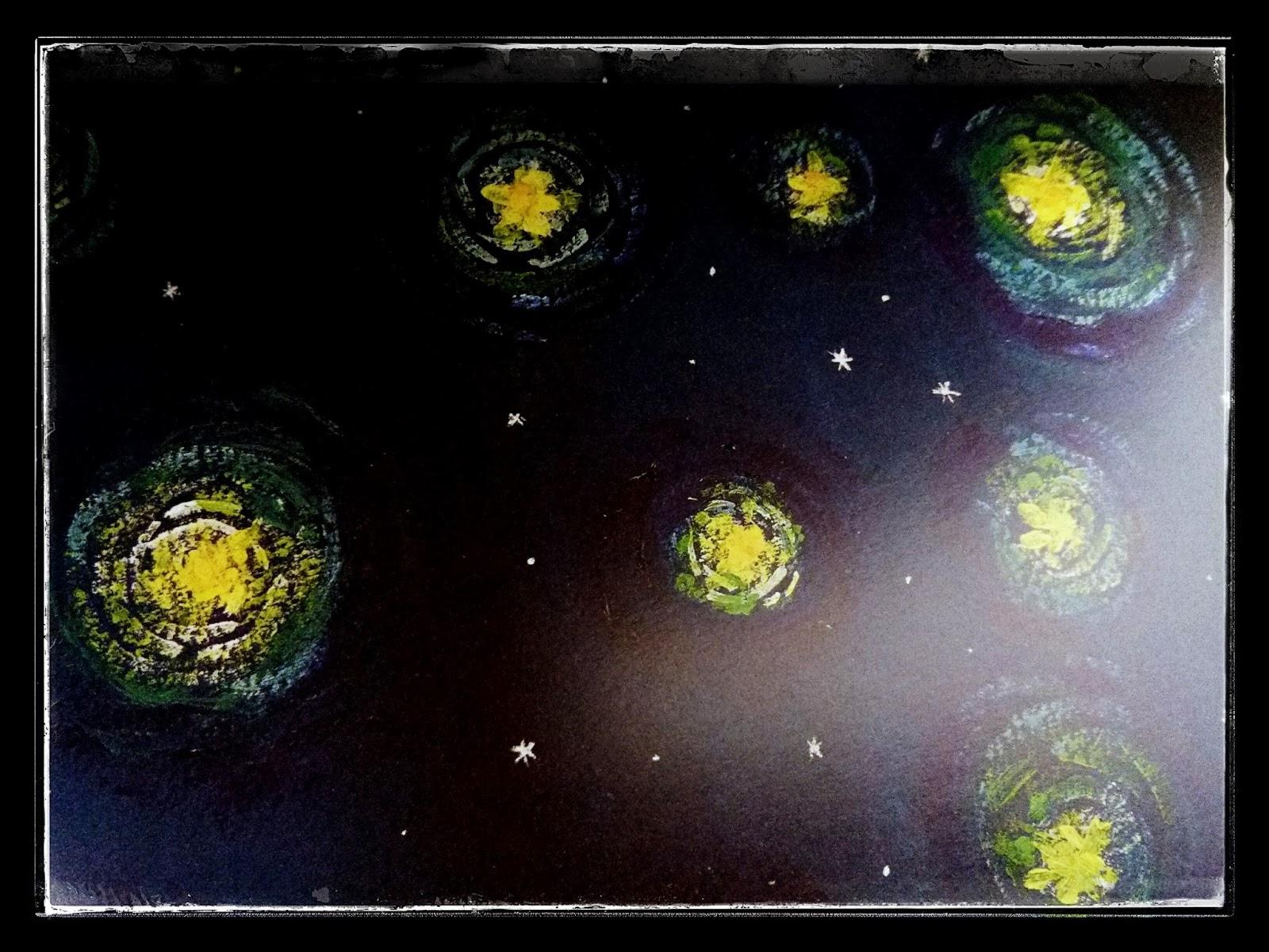 Estrellas circulares para Cosas Que Siento