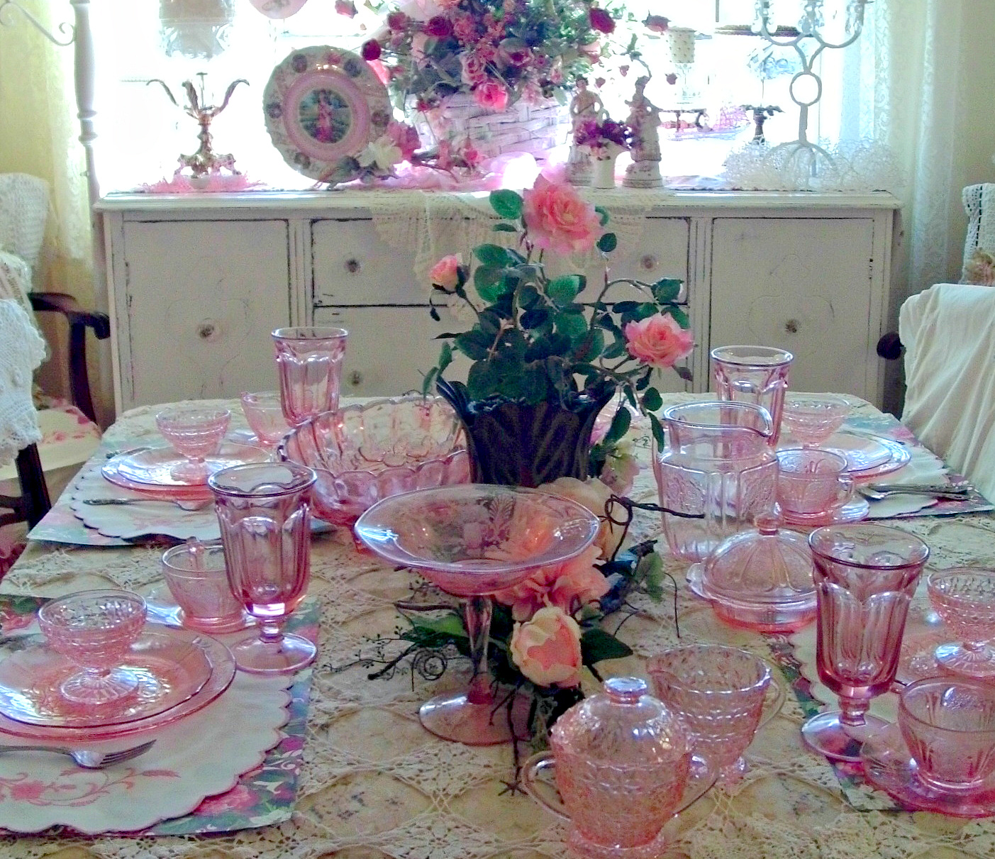 Penny 39 s vintage home summer tablescapes for Pretty html table