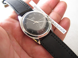 HMT JANATA MILITARY BLACK DIAL - INDIAN MARKER INDEX - MANUAL WINDING