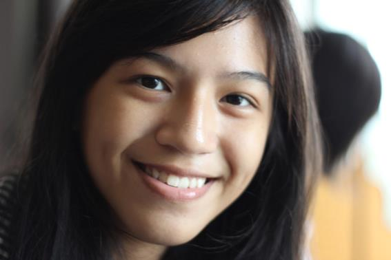 Closeup photo of gaby JKT48
