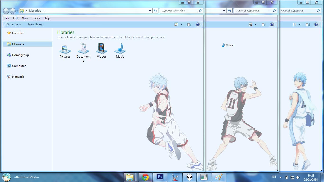 Google themes kuroko no basket - Other Screenshoot