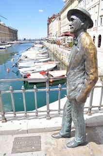 statua James Joyce a Trieste