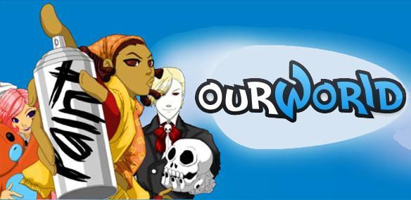 Randomness daily up ourworld com a multiplayer socializing game