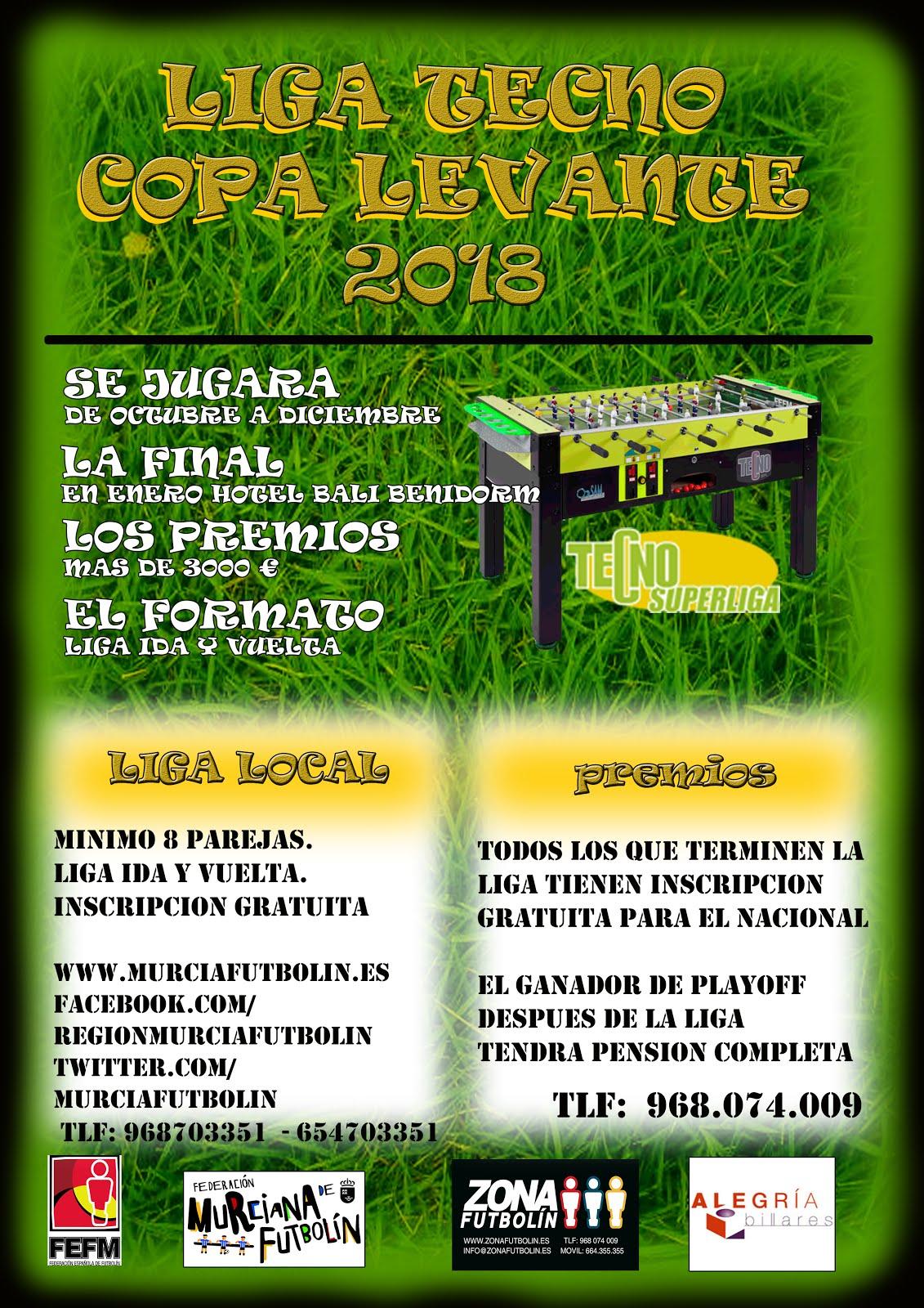 Ligas 2018