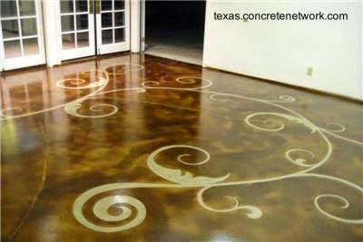 Arquitectura de casas piso de cemento alisado decorado for Como pintar un piso colores