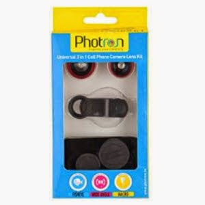 Buy Photron 3-in-1 Universal Camera Lens Kit for Smartphones for Rs.350 – Amazon