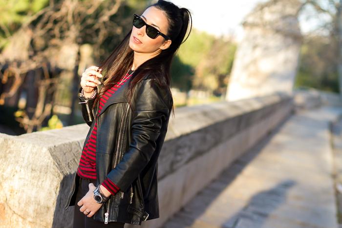 BLogger moda tendencias belleza prendas cuero piel maxi chaqueta oversized perfecto Withorwithoutshoes