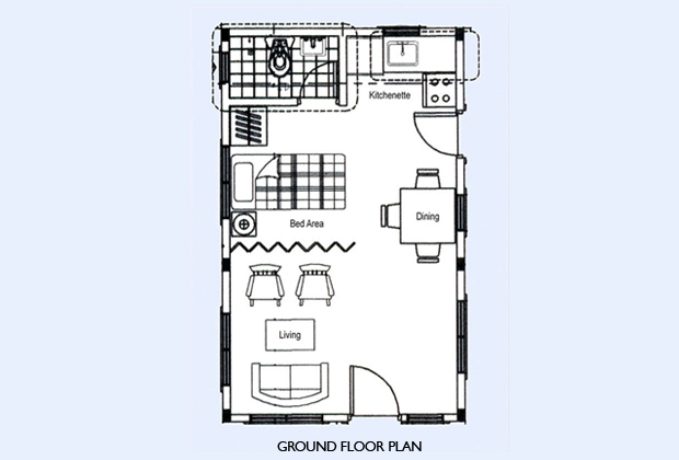 Security Guard House Floor Plan Providence Iloilo By