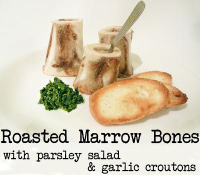 Derek's Kitchen: Roasted Marrow Bones with Parsley Salad