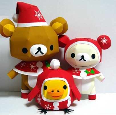Created by Japanese designer Kumarila, here are Rilakkuma and friends ...