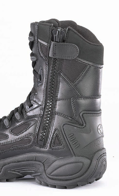 Tactical Boots Zipper2