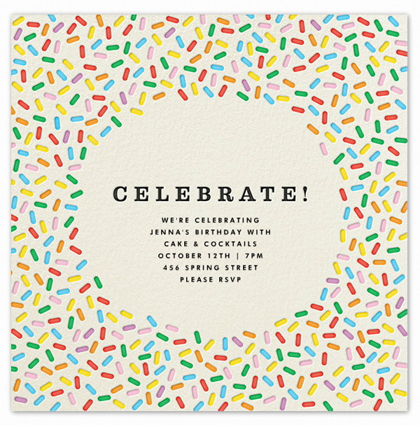 But I found an invitation on Paperless Post that was perfect. And, for a small, casual brunch at my house, an email invite felt like the right way to go. So, I thought I'd walk you through how easy it was to create our Paperless Post invitation, in case you want to try this for one of your parties.
