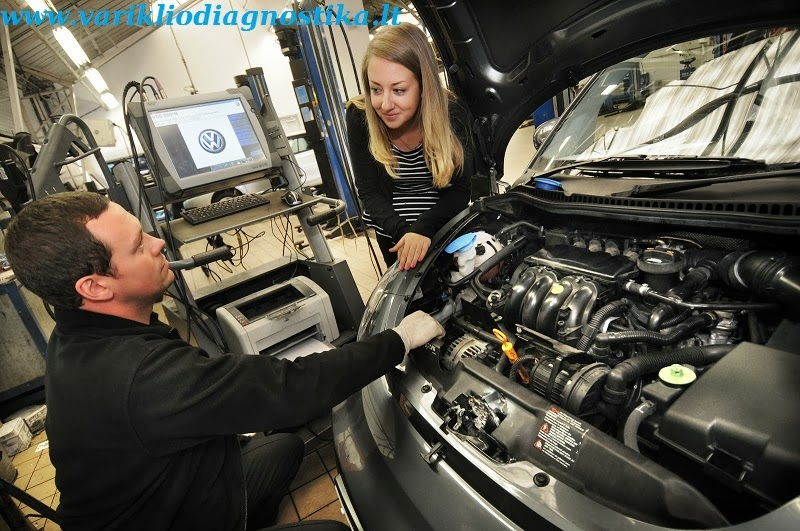 Automobilio diagnostika prieš perkant