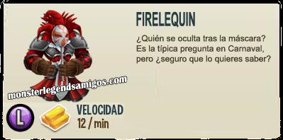 imagen de la descripcion del monstruo firelequin