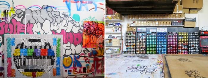 Atelier Tilt - street art Toulouse