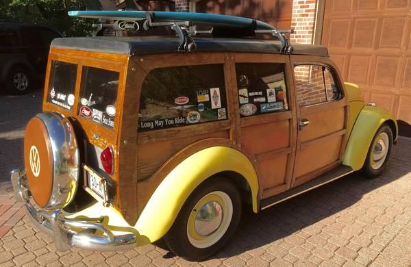 Daily Turismo Holzwagen 1965 Volkswagen Beetle Custom Woodie