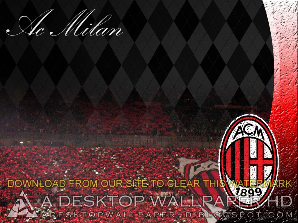 Hd wallpaper ac milan - Ac Milan Football Club Screensaver Desktop Wallpaper Hd