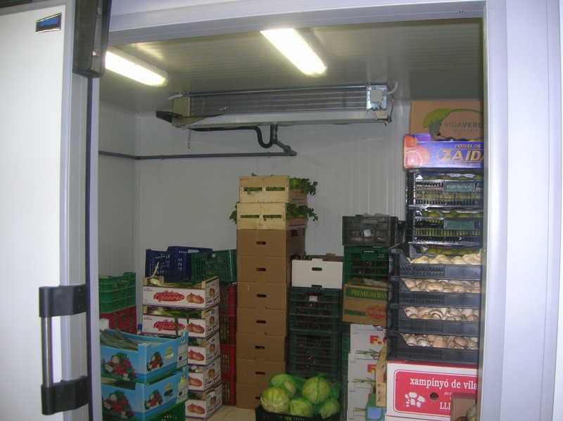 Cocinando generadores de fr o for Cuarto frio cocina