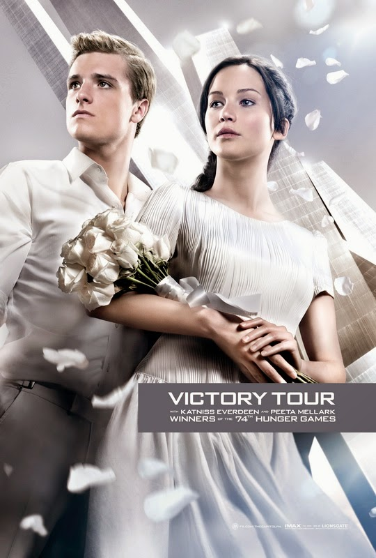 Hunger Games 2 Catching Fire Katniss & Peeta