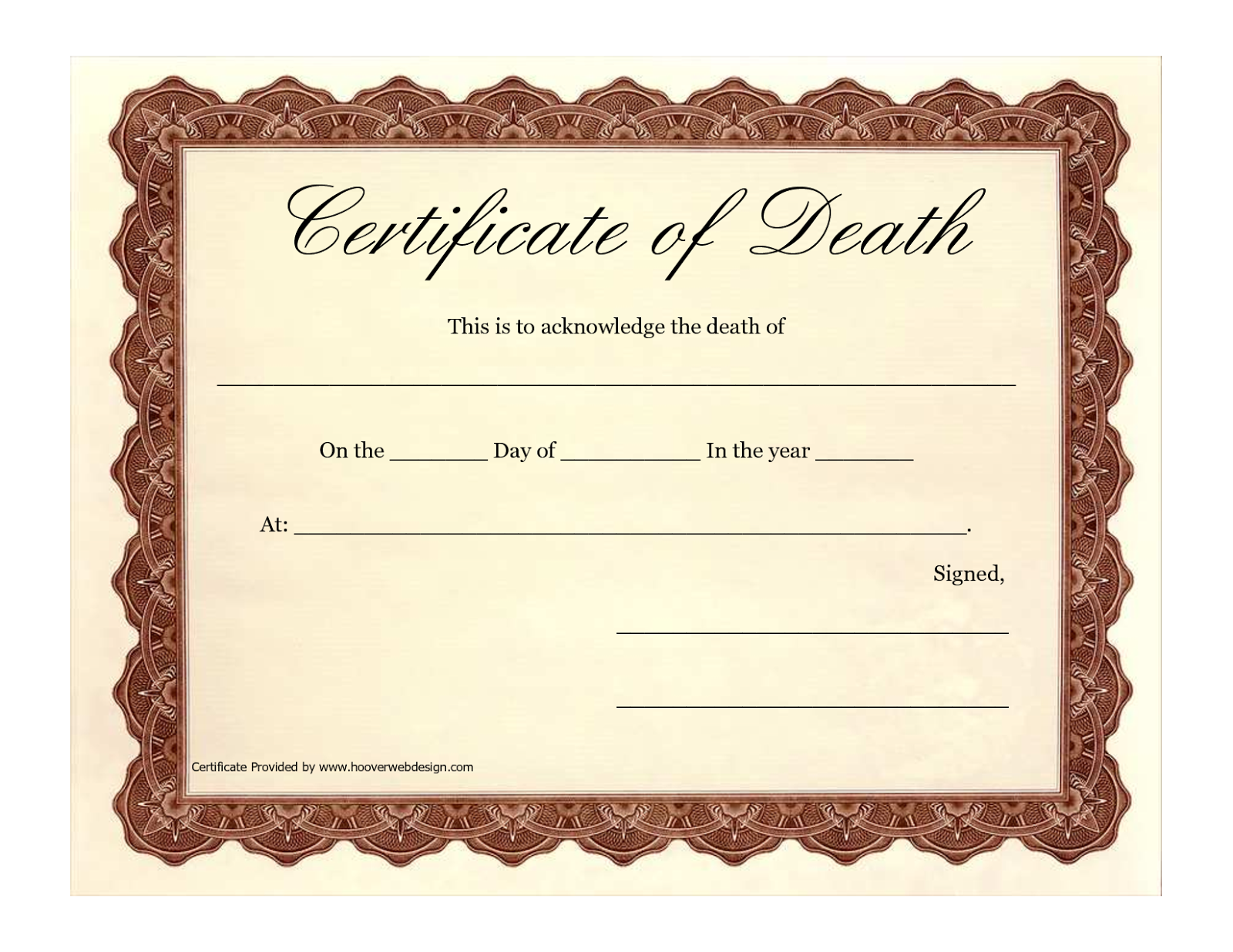 how to find death certificates online