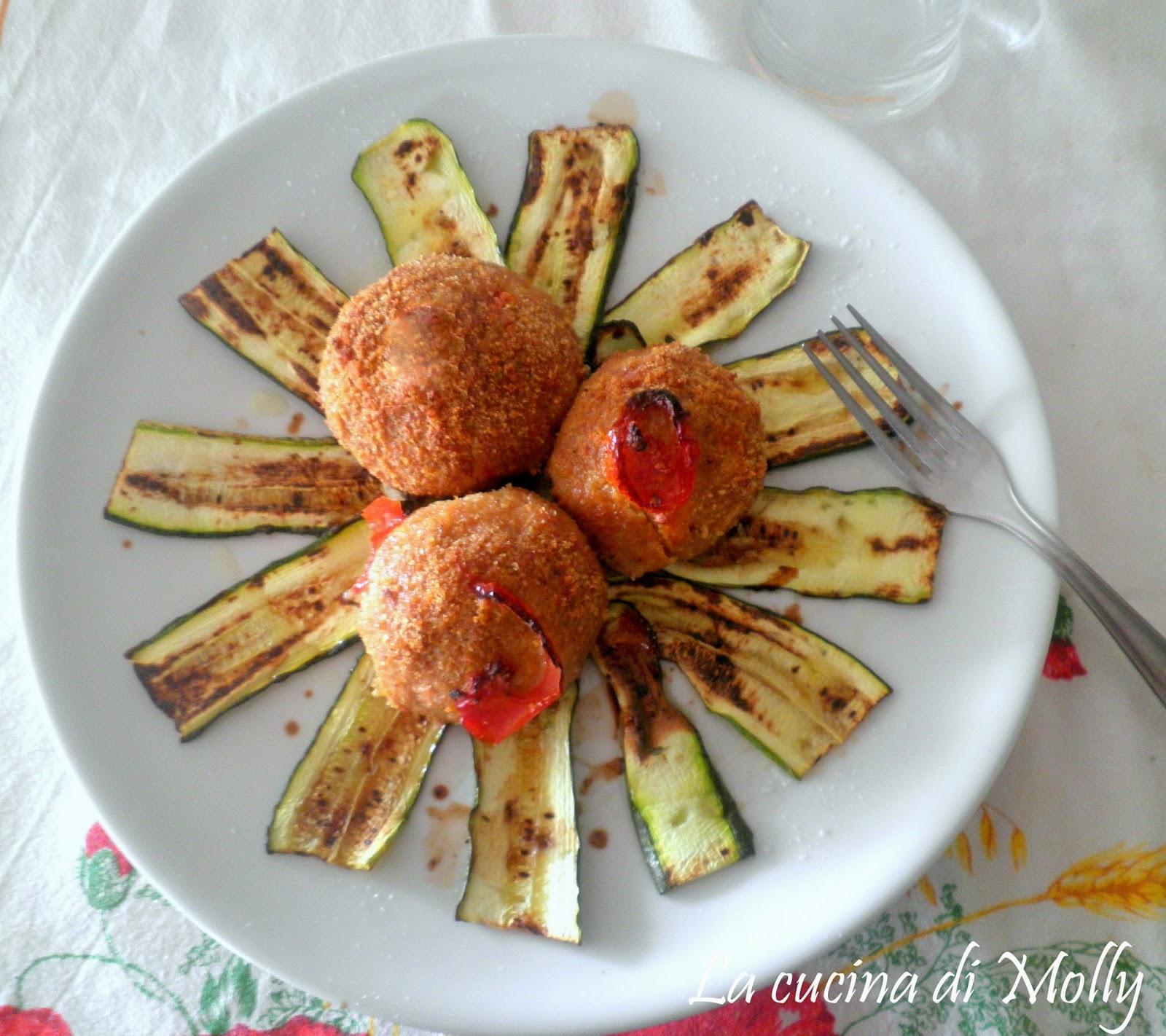 polpette di zucchine e carne