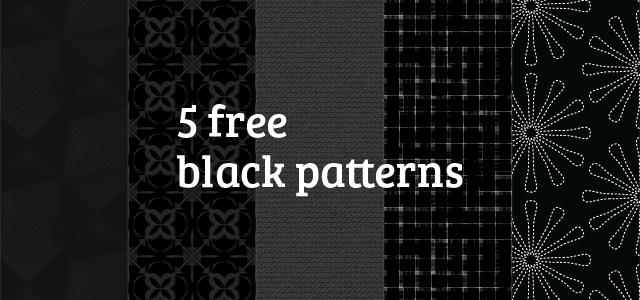 背景に使いやすい黒を基調にしたフリーパターン素材いろいろ。商用利用もOK。