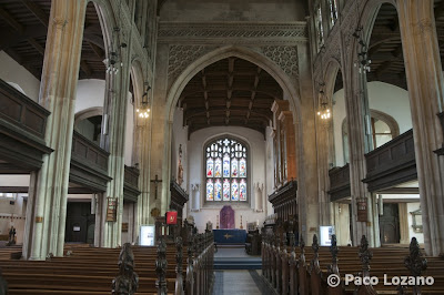 College Chapel in Cambridge